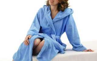 Як відіпрати махровий халат
