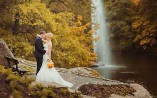 Ідеї для красивої весільної фотосесії восени