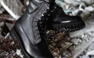 Як правильно випрати черевики з високим берцями