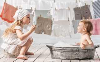 Яким порошком прати речі новонароджених: особливості та основні моменти