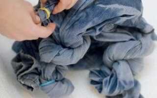 Як освітлити джинси в домашніх умовах