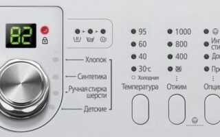 Що означають значки і символи на пральній машині