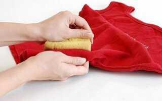 Як відіпрати плями з кольорового одягу в домашніх умовах
