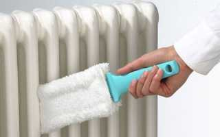 Як відмити батарею опалення: методи і засоби