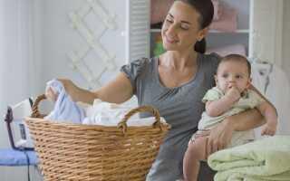 Як відіпрати пелюшки і дитячі речі від калу