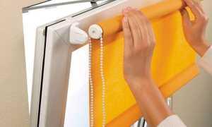 Як правильно кріпити жалюзі до пластикових вікон