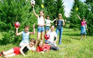 Ігри для дітей на природі: приклади та рекомендації