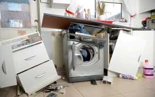 Як встановити пральну машину щоб вона не стрибала ✅: чи не вібрувала, правильно закріпити, автомат, на кахельну підлогу