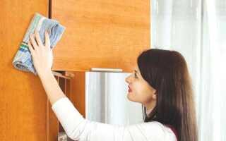 Як почистити меблі від жирних плям
