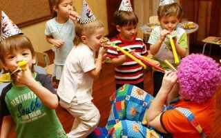 Дитячий день народження вдома: сценарій і конкурси